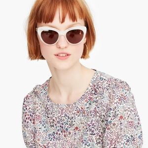 NWT J.Crew Puff Sleeve Top in Liberty Floral